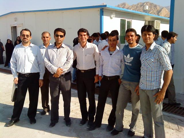 همکلاسی ها با رئیس دانشگاه